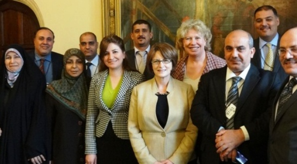 PN Member Meg Munn Welcomes Iraqi Parliamentary Committee in Westminster