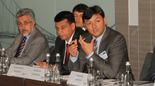 "Afghan MPs at the EWI Conference ""Afghanistan Reconnected"", Istanbul, April 9-11, 2013."