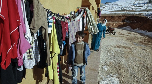 Syrian refugees in Arsal, Lebanon's Bekaa Valley, March 5, 2012.
