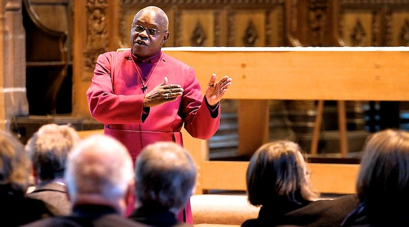 The Archbishop of York, The Most Rev Dr John Sentamu, 2010.
