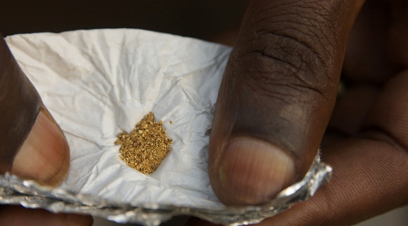 Gold from Eastern Congo.