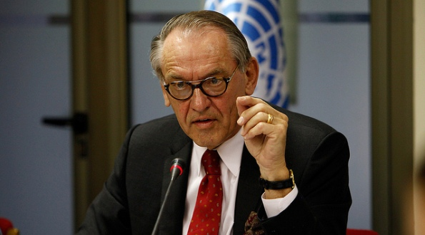UN Deputy Secretary-General, Jan Eliasson, January 2013.