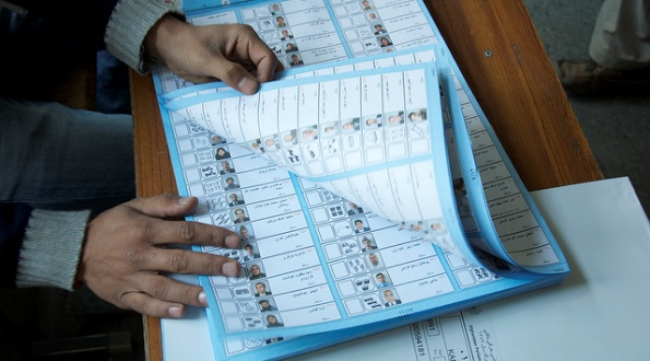 Afghanistan, Election Ballots, 2010.