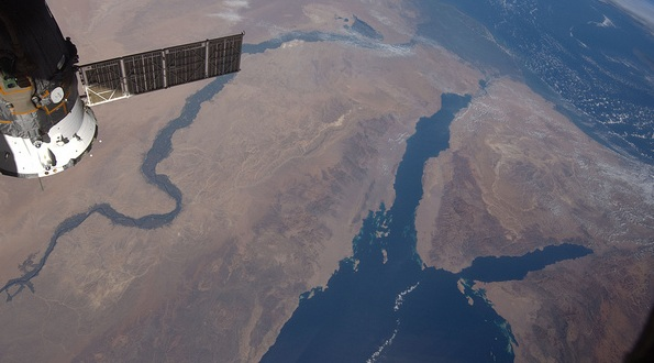 Middle East from the International Space Station