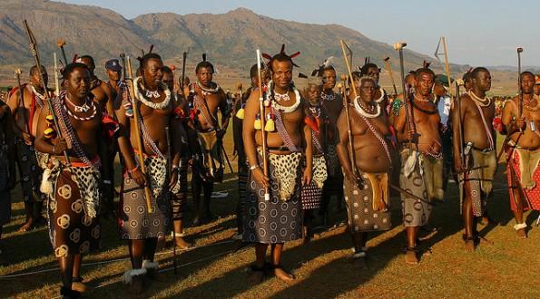 King Mswati III - Swaziland