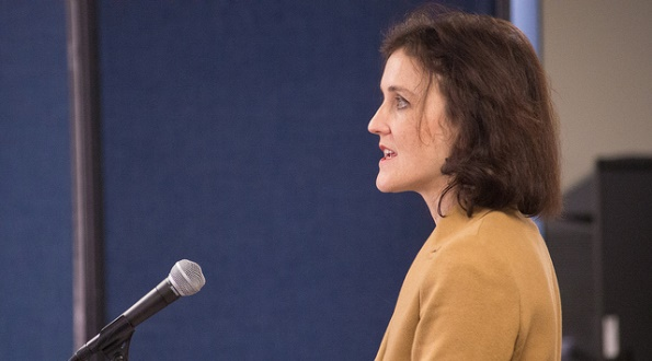 UK Secretary of State for Northern Ireland Theresa Villiers