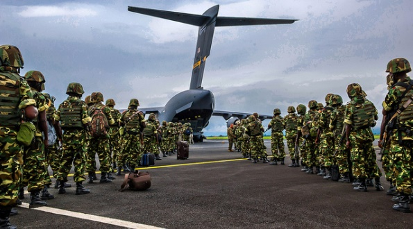 Dec. 2013: U.S. military aircraft were dispatched to transport Burundian forces to Bangui, Central African Republic, in support of an African Union effort to quell violence there.