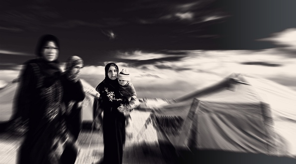 Women in Za'atari Camp