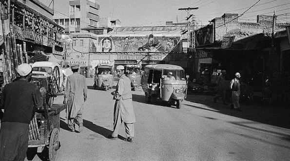 Peshawar in 1986.