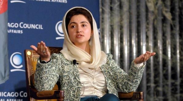 PN Member Farkhunda Zahra Naderi MP from Afghanistan