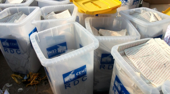 Elections in the Democratic Republic of Congo, Ballot Boxes, Nov. 2011