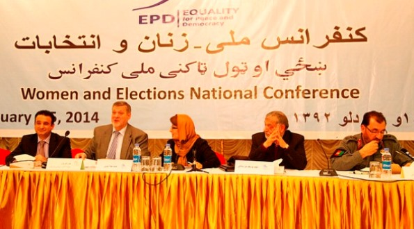 National Conference on Women and Elections: 5 February 2014