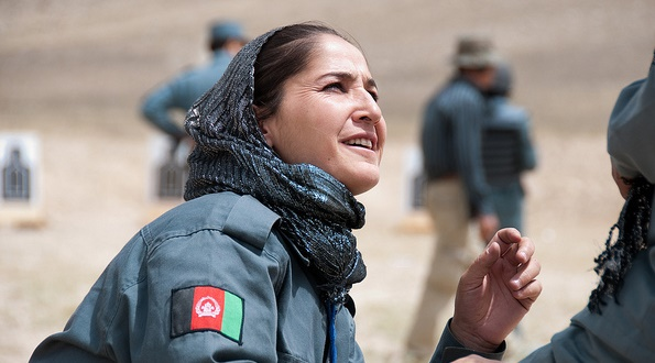 Female Afghan National Police Trainees