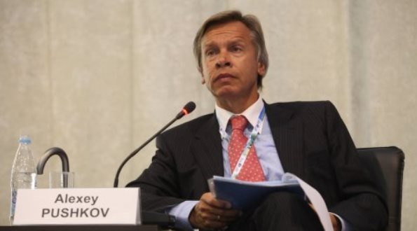 Dr. Alexei Pushkov, chairman of the State Duma foreign policy committee