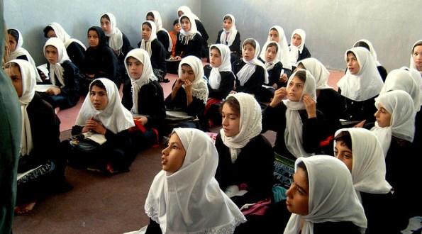 Girls school in Herat, Afghanistan.