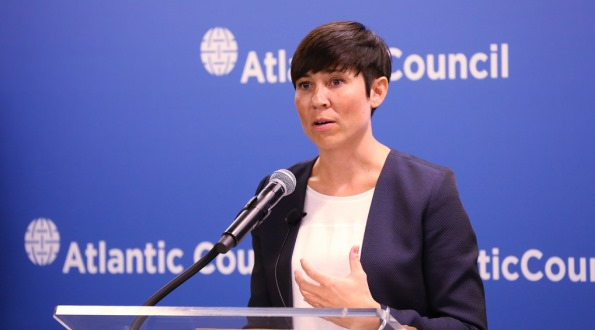 Norwegian Minister of Defense H.E. Ine Eriksen Søreide