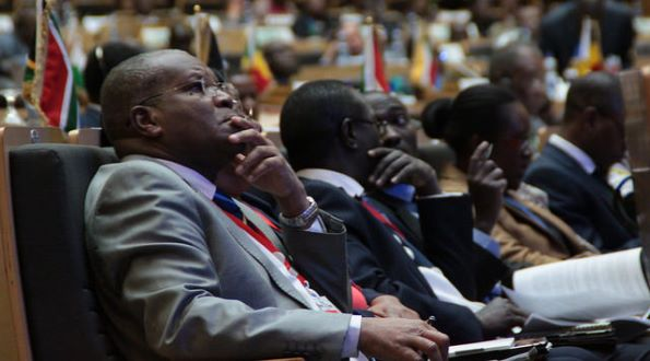 Closing Ceremony of the 24th Ordinary Session of the Assembly of the Union and final Press Conference of the 24th AU Summit, 31 January 2015, Addis Ababa, Ethiopia
